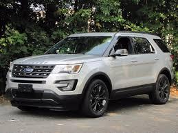 Ford Explorer Towing Capacity - 2017 ford explorer sport in white platinum metallic tri coat for