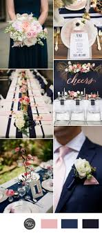 blue wedding stunning navy blue wedding color combo ideas for 2017 trends