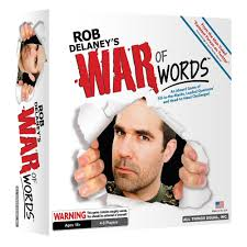 rob delaney u0027s war of words cards board game loaded questions 18