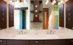 Bathroom Above Mirror Lighting How To Pick A Modern Bathroom Mirror With Lights