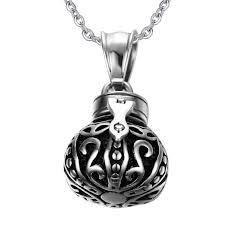 cremation necklaces for ashes crown urn pendant cremation jewelry ashes necklace cremation