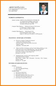 Resume Samples Of Teachers by 7 Resume Sample For Fresh Graduate Teachers Forklift Resume