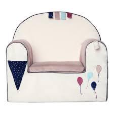 fauteuil bebe avec prenom fauteuil enfant déhoussable en velours little band fr