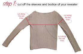 how to make a cowl scarf leg warmers from sweater megan