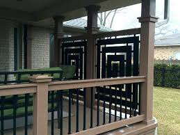 outdoor deck privacy screen best privacy screen for deck ideas on