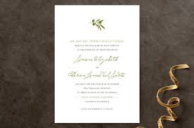 simple wedding invitations simple olive wedding invitations by clark minted