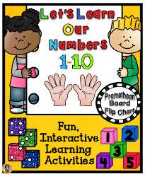let u0027s learn our numbers 1 10 promethean board flip chart