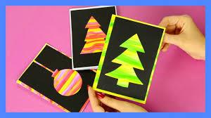 diy silhouette christmas cards fun christmas craft for kids