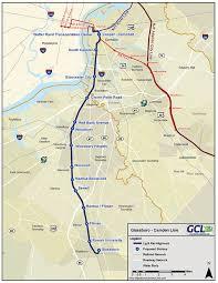 hudson bergen light rail map is light rail finally coming to bergen camden gloucester