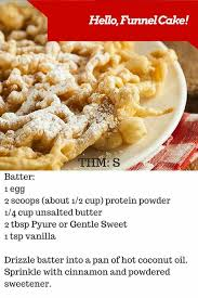 thm funnel cake thm snacks pinterest cake keto and low carb