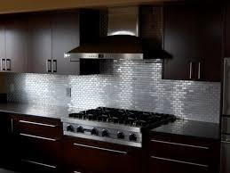 kitchen stainless steel backsplash tiles design kitchen modern