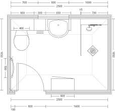 shower room layout by frog bathrooms
