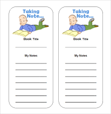 blank templates for word sle blank bookmark 6 documents in pdf word