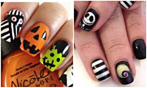 halloween halloween nail art collagesigns gallery fall easy