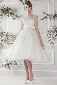 Wedding Gowns Uk 25 Utterly Gorgeous Tea Length Wedding Dresses Chic Vintage Brides