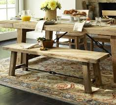 console table used as dining table hewn and hammered furniture