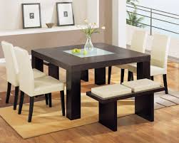 8 piece dining room set modern concept contemporary dining room sets with benches