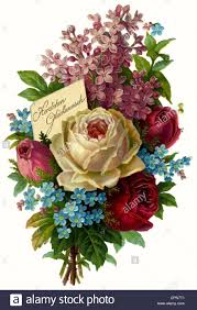 congratulations flowers kitsch cards souvenir flower bouquet herzlichen glueckwunsch