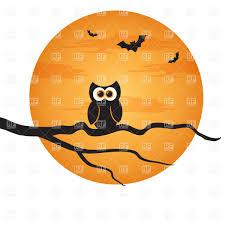vintage halloween owl clip art 74