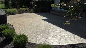 Best Sealer For Stamped Concrete Patio by Stamped Concrete Patio Cleaning And Sealing In Avon Lake Youtube