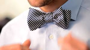 how to tie a bow tie s fashion