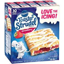Pumpkin Toaster Strudel Pillsbury Toaster Strudel Strawberry Toaster Pastries 30 Ct