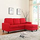 Red Sectional Sofas by Amazon Com Red Sofas U0026 Couches Living Room Furniture Home