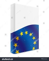 Flag Book Eu Book Cover Flag Black Stock Illustration 586402385 Shutterstock