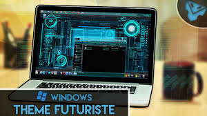 theme bureau windows 7 gratuit installer le thème futuriste sous windows 7