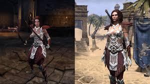 elder scrolls online light armor sets eso fashion breana the mule ps4