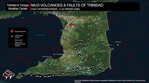 where is and tobago located on the world map hydrothermal mud volcano forms in cunupia and tobago