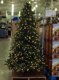 ge prelit led tree costco splendi pre