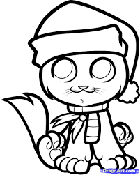 christmas drawing cliparts co