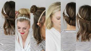 lace headbands 6 hairstyles with lace headbands