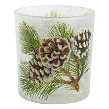 pine cone tea light holder christmas tealight holders the christmas boutique