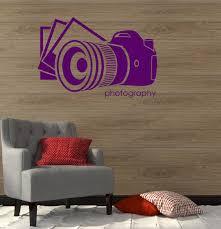 wall decals stickers home decor home furniture diy wall vinyl sticker decal photo photography salon art photographer decor ig2119