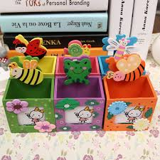 Desk Accessories For Children by Online Buy Wholesale Diy Pencil Holder Wooden From China Diy