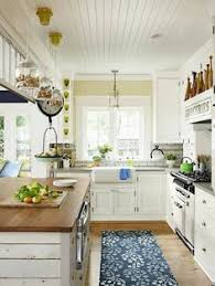 tiny holiday cottage tour marble countertops carrera and