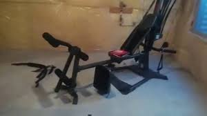 Bowflex 3 1 Bench Bowflex Elite Plus Assembled Youtube