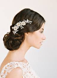 cheap hair accessories bridal hair accessory nature inspired comb trouw