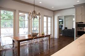 painting crown molding to match cabinets an example in sherwin