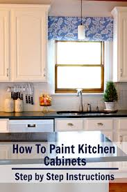 how to paint kitchen cabinets the right way for a lasting