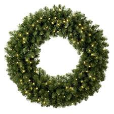 large outdoor wreaths solar lighted on qvc