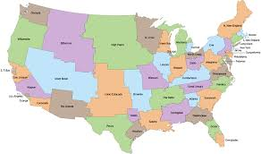 map us states population infographic u s state boundaries divided equally by population