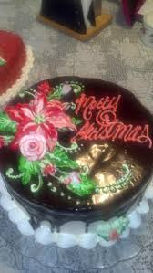 Christmas Cake Decorations Videos by Frosted Art Learn To Pipe A Poinsettia Cake Decorating Video