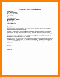 sample accountant cover letter image collections cover letter sample