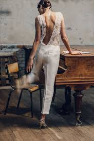 wedding jumpsuit what to wear for a civil wedding white jumpsuits vogue