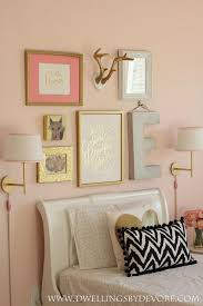 rose gold paint for walls awesome bedroom decor black metal daybed