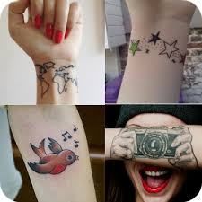 wrist tattoo designs android apps on google play
