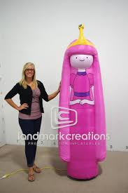 Princess Bubblegum Halloween Costume Princess Bubblegum Adventure Inflatable Mascot Cartoon